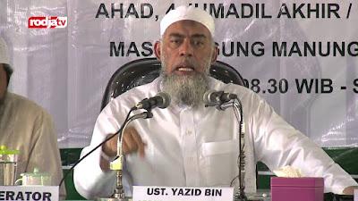 ustadz Yazid bin Abdul Qodir Jawas