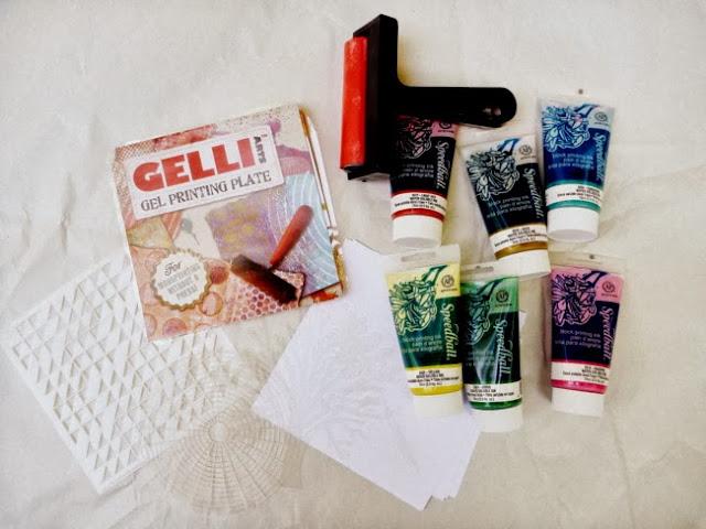 Gelli Plate Mono Print Supplies from Gelli Arts and Speedball