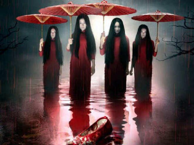 Hantu Janet Payung Merah