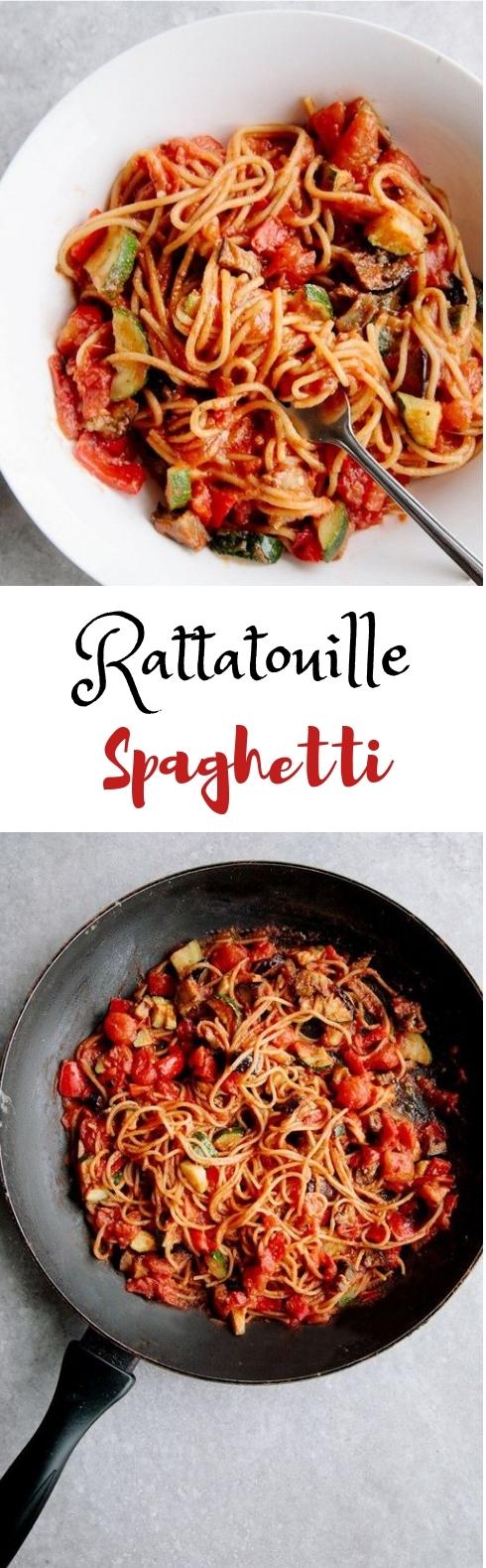 Rátátouille Spághetti #Pasta #Dinner