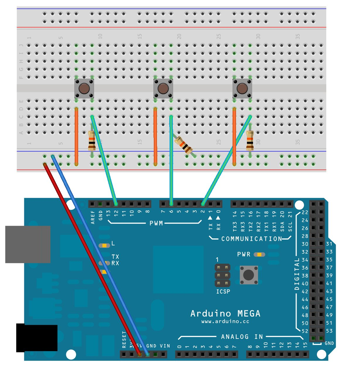 Tutorial – sending values from PC to Arduino by serial communication