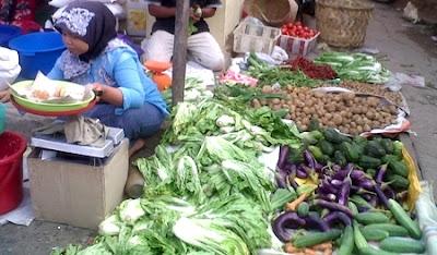 Harga berbagai jenis sayuran seperti kentang, kol, wortel maupun jenis sayur daun lainnya di kota Ambon hingga memasuki akhir bulan November 2016 masih tetap normal.