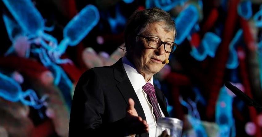 BILL GATES: Cofundador de Microsoft asegura fabricar 200 millones de dosis de vacuna contra el coronavirus para junio del 2021 a través de empresa surcoreana que él financia