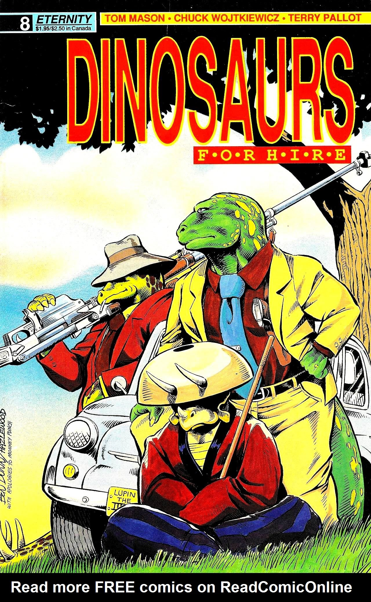 Dinosaurs For Hire (1988) issue 8 - Page 1