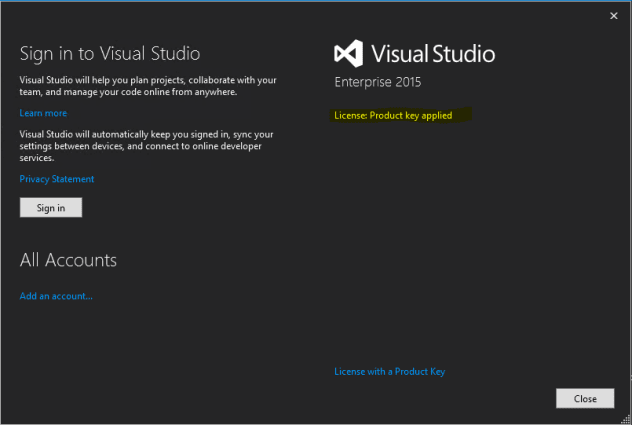 Visual Studio 2015 Enterprise ISO With Serial Key - My On HAX