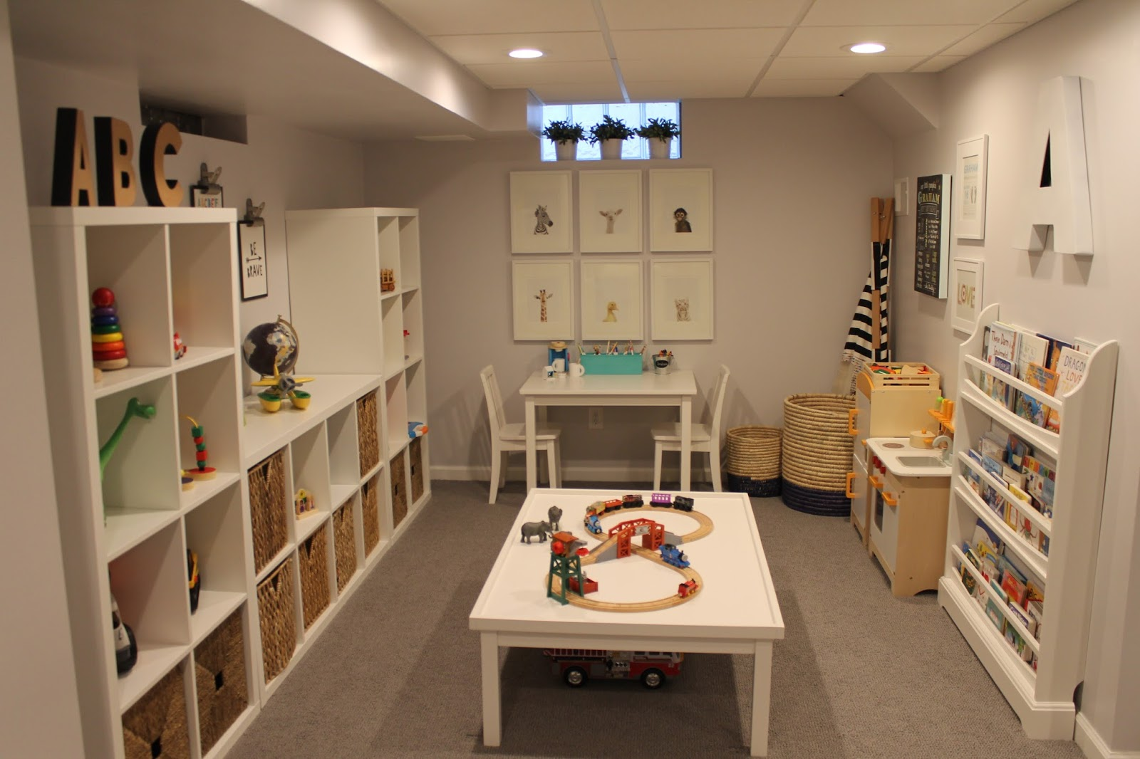 Playroom: Our Boy's Space // A Playroom Makeover