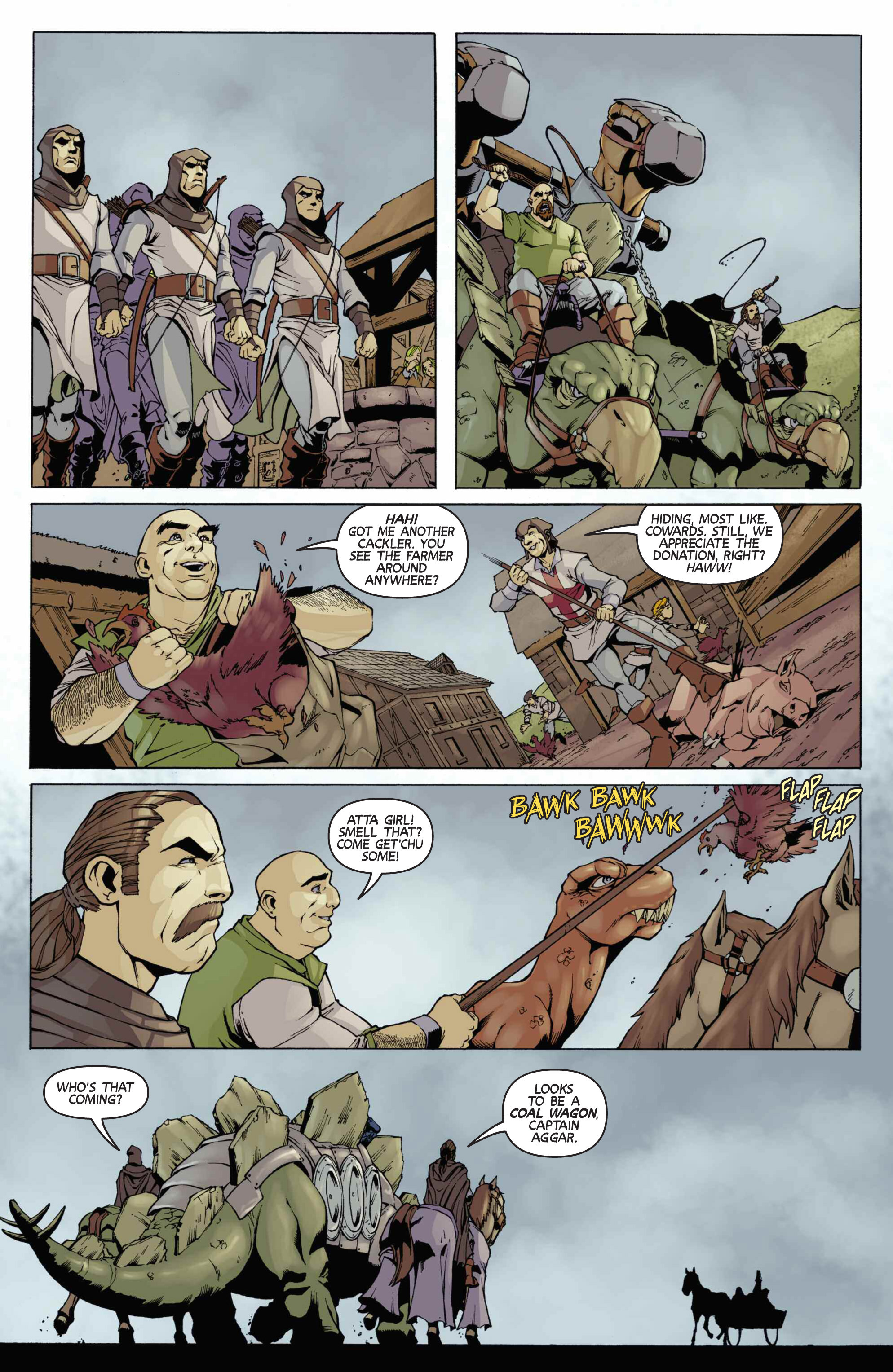 Read online Turok: Dinosaur Hunter (2014) comic -  Issue # _TPB 3 - 74