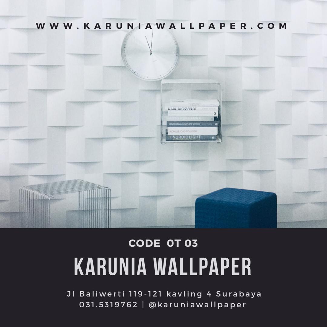 jual wallpaper dinding efek 3 dimensi surabaya