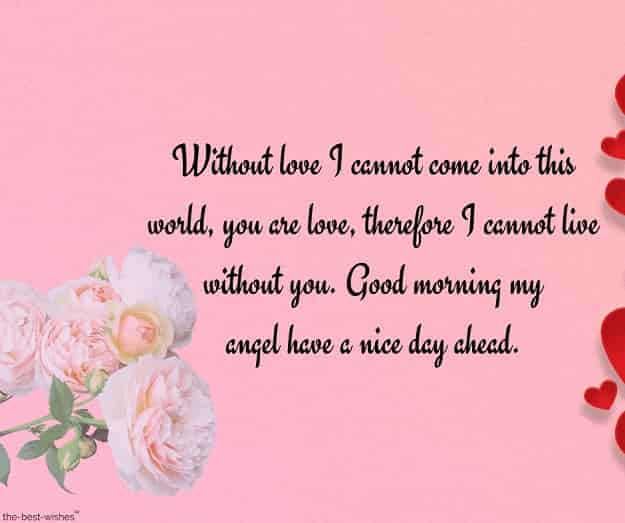 good morning love letter quotes