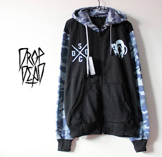 Jaket Fleece Hoodie - Dropdead DROP001