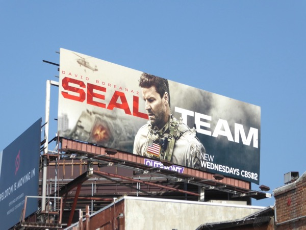 SEAL Team series launch billboard