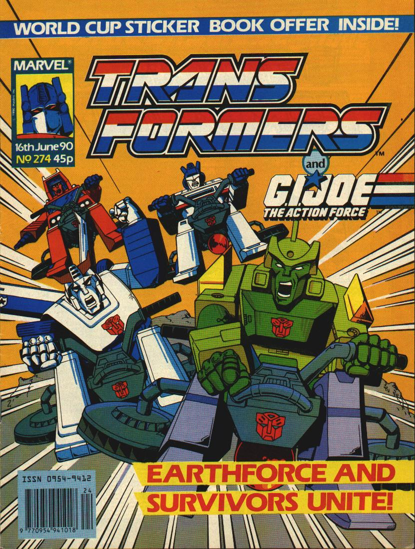 The Transformers (UK) 274 Page 1