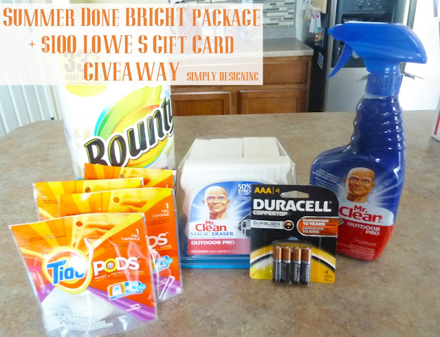 outdoor+cleaning+supplies How to Clean Your Grill + $100 Lowe's Gift Card + Outdoor Cleaning Prize Pack GIVEAWAY! #giveaway #ad 23