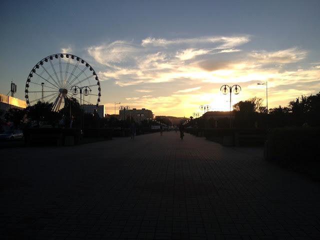 Gdynia - koło widokowe