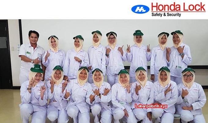 Lowongan Kerja Operator Produksi PT. Honda Lock Indonesia Desember 2017