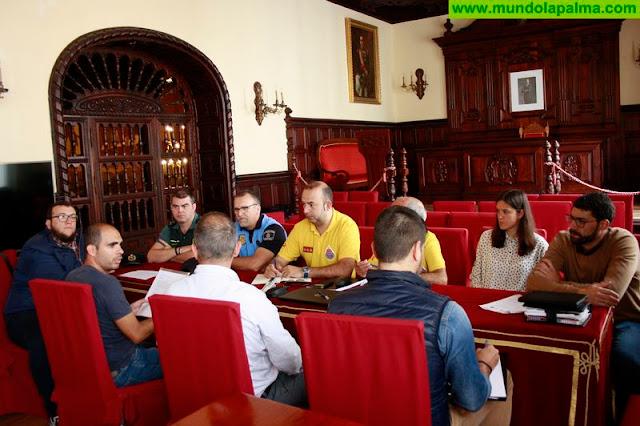 El Ayuntamiento de Santa Cruz de La Palma establece los protocolos de seguridad de la Caminata Solidaria Dona Sangre