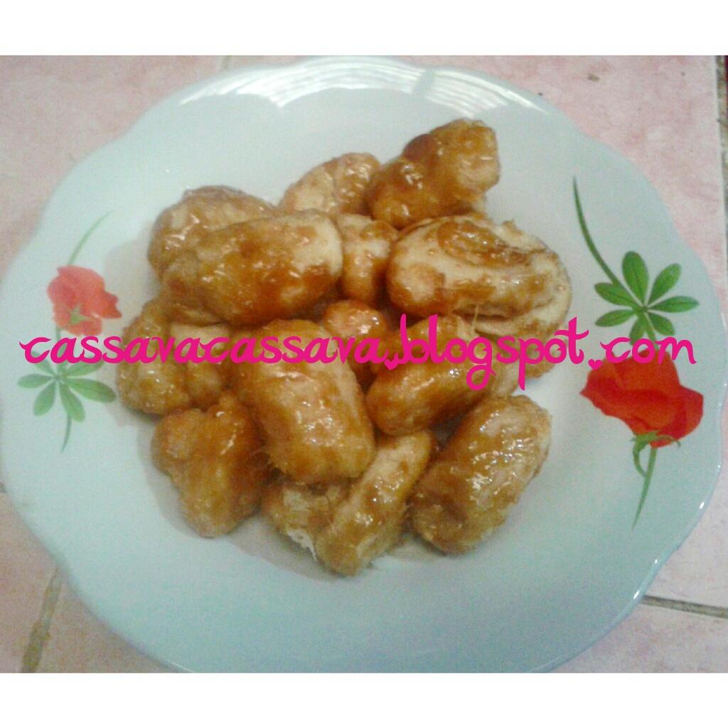 Resep Makanan Dari Singkong Gemblong Karamel Singkong Ketan Isi