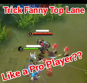 Tips Fanny dari Mid Lane ke Top Lane
