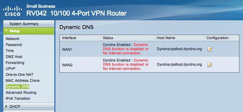 Cisco RV042 - Configurando VPN entre dois roteadores com IP