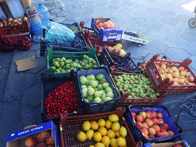 Stoisko owocowe gdzieś w Bułgarii