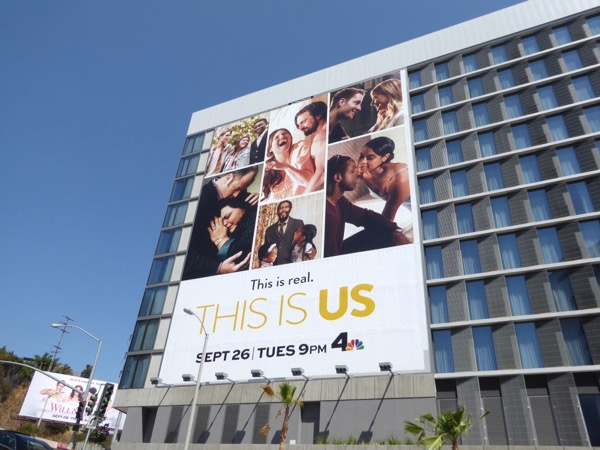 Giant This Is Us season 2 billboard