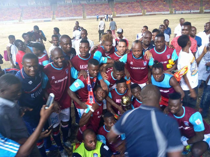 Celebration as Ifeanyi Ubah FC wins 2017 FA Charity cup