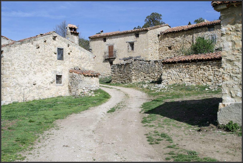 La Nogueruela. Entrada a la aldea