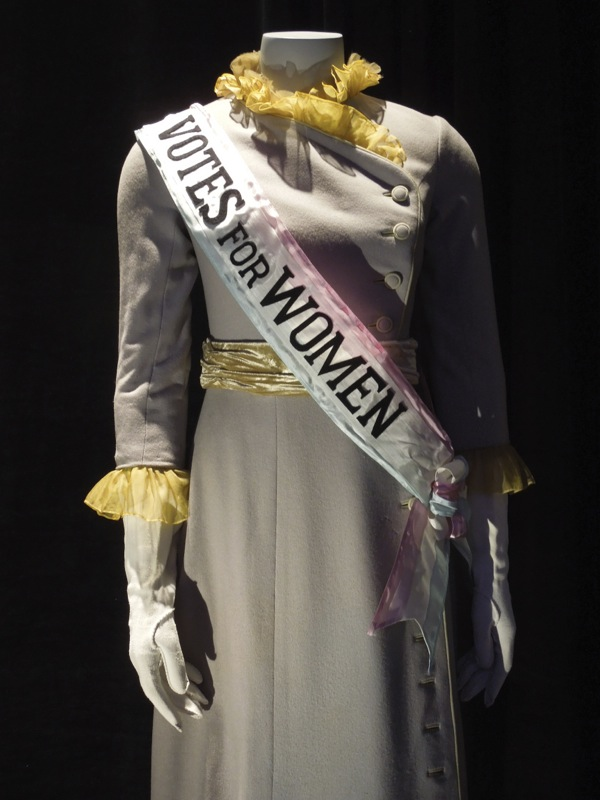 Mary Poppins Mrs Banks Suffragette Votes for women costume