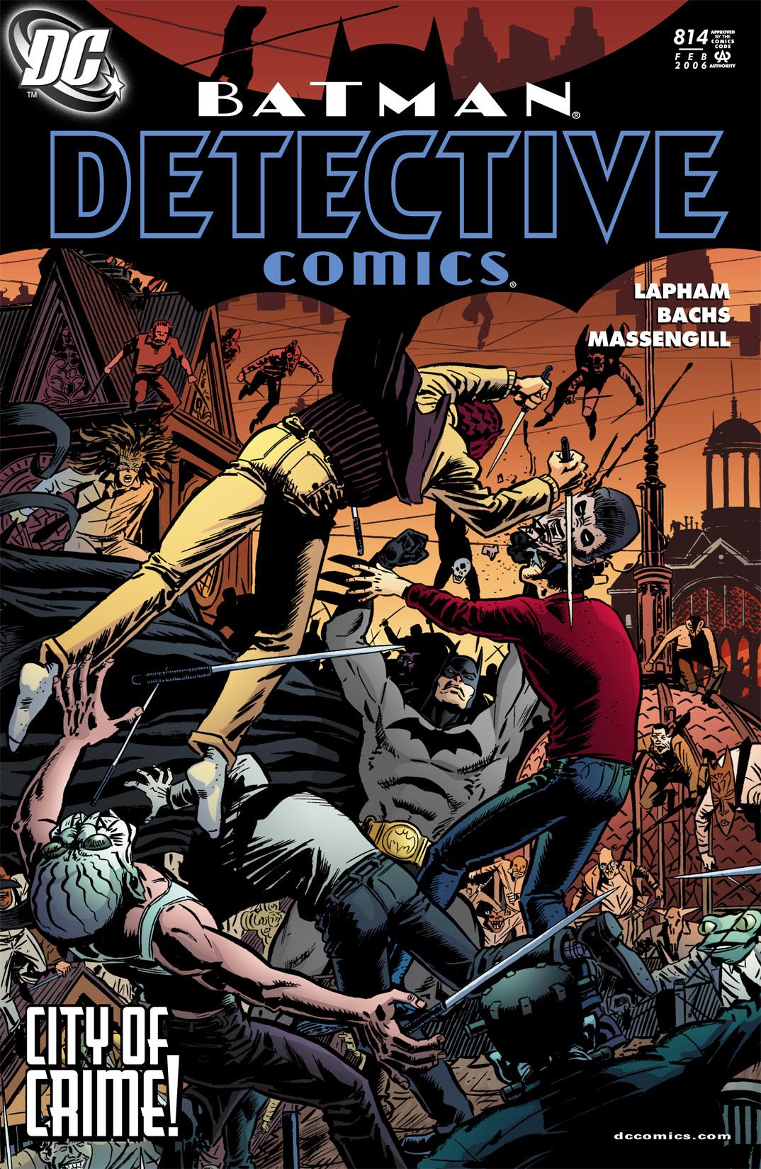 Detective Comics (1937) 814 Page 1