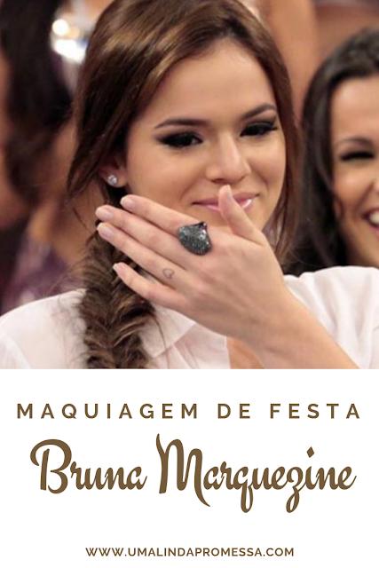 Maquiagem de festa: Bruna Marquezine