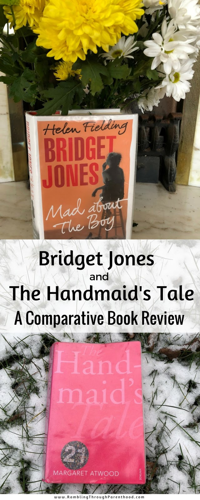 At first glance, both stories could not be more different. But then you notice similarities between Bridget and Offred.