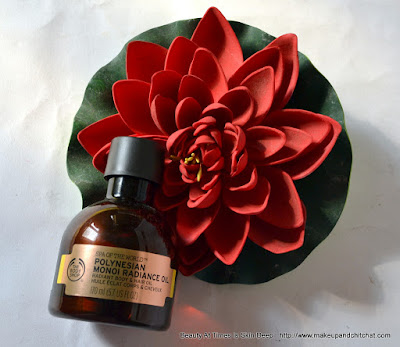 The Body Shop Polynesian Monoi miracle oil