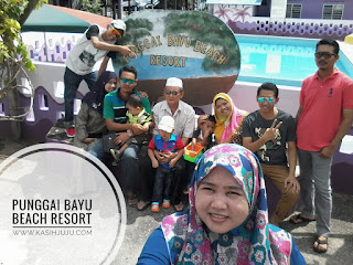 Family Gathering di Punggai Bayu Beach Resort
