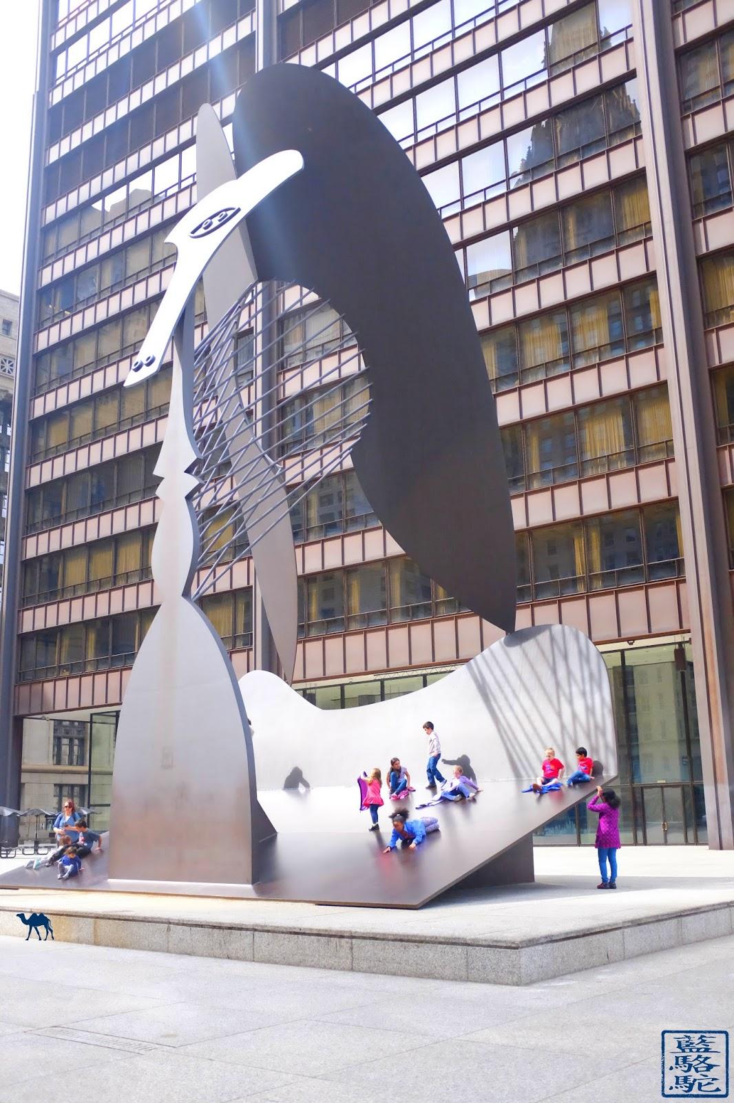 Le Chameau Bleu - Voyage aux USA Visite de Chicago et  Chicago Picasso