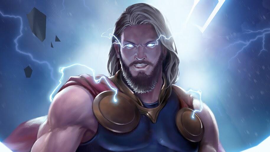 Thor, Marvel, Comics, Superhero, 4K, #6.1177