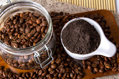 coffee scrub to cure pimples