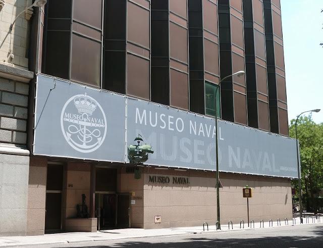 Museu Naval em Madri