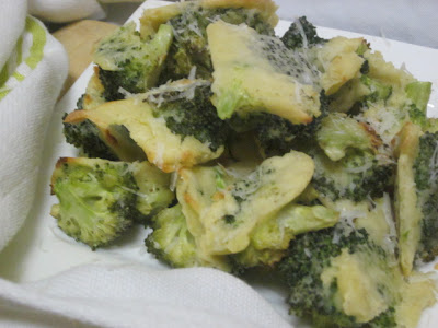 "Healthy Batter ""Fried"" Broccoli"