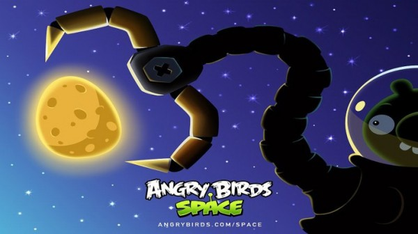 Angry Birds Space Pig Claw Desktop Wallpaper