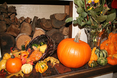Thanksgiving decoration (cornucopia) :: All Pretty Things