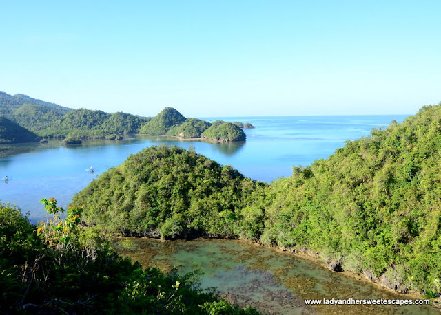 view in Latasan Resort Sipalay