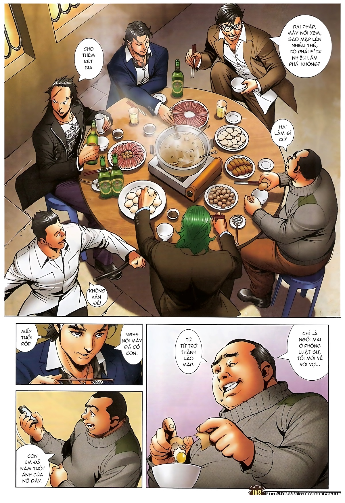 Người Trong Giang Hồ - Chapter 1573: Chuyện bên bếp lẩu - Pic 6