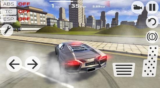 Game Simulasi Mengendarai Mobil di Android
