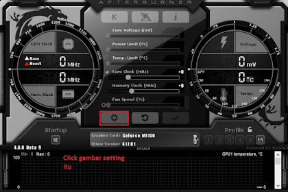 Cara Menggunakan MSI Afterburner RivaTuner On Screen Display