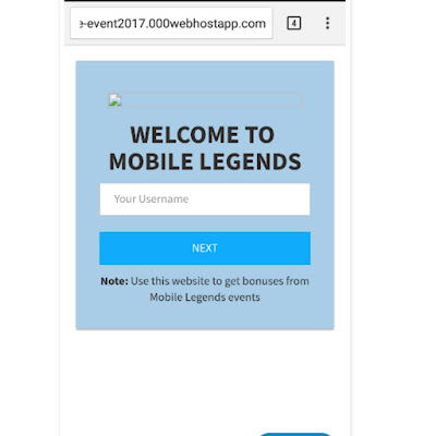 Cara Membuat Web Phising Mobile Legend 2018