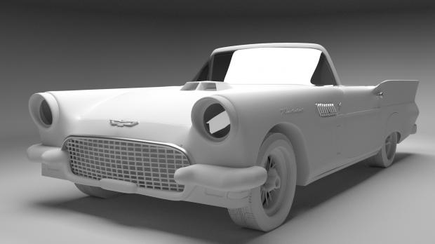 blender 3d model ford