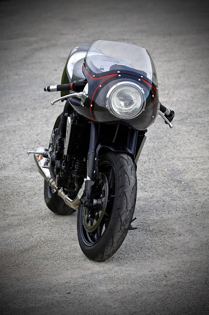Triumph Speed Triple By Badass Factory Hell Kustom