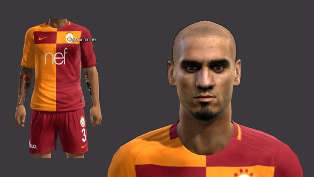 Maicon Face + Tattoo PES 2013