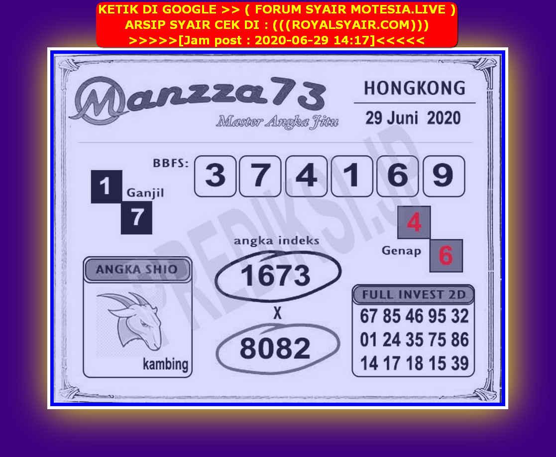 Kode syair Hongkong Senin 29 Juni 2020 219