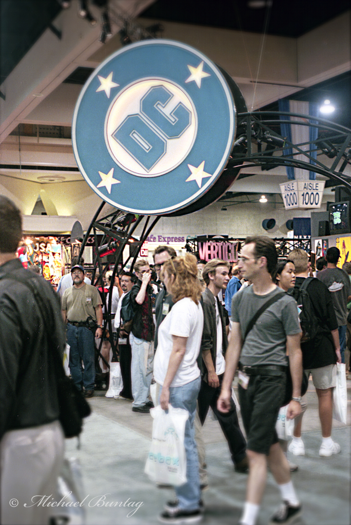 DC Booth, San Diego Comic-Con International 2000